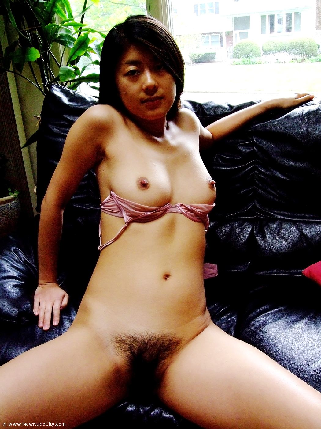 Cute Japanese Cutie Shows Off On Livecam